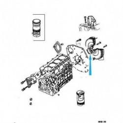 O-kroužek klikového hřídele zadního malé černé 4720240 Chrysler Voyager 1992-2000 2.5TD