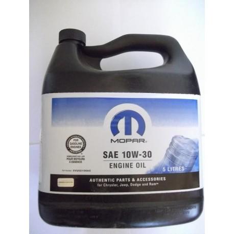 Motorový olej 10W30 MOPAR ovu02106ac 5L