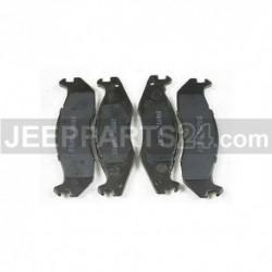 Brzdové destičky přední Jeep Cherokee / Wrangler IMD203