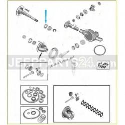 Simering vnější hřídele, zadní náprava 4856336 Jeep Wrangler 90-06