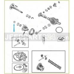 Sada vymezovacích podložek diferenciálu 83503004 Jeep Wrangler 1987-2006